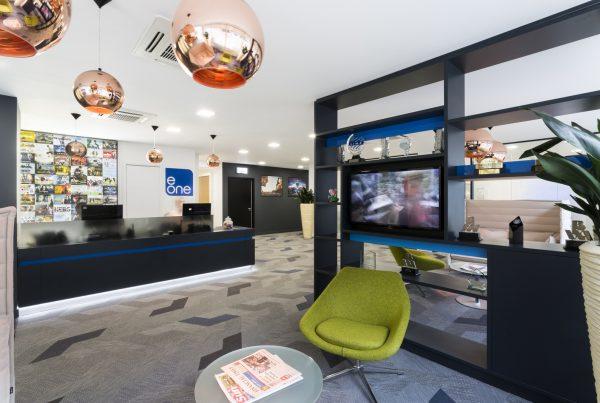 Entertainment One – London Offices BOLON ECO-BEAUTY WOVEN VINYL FLOORING