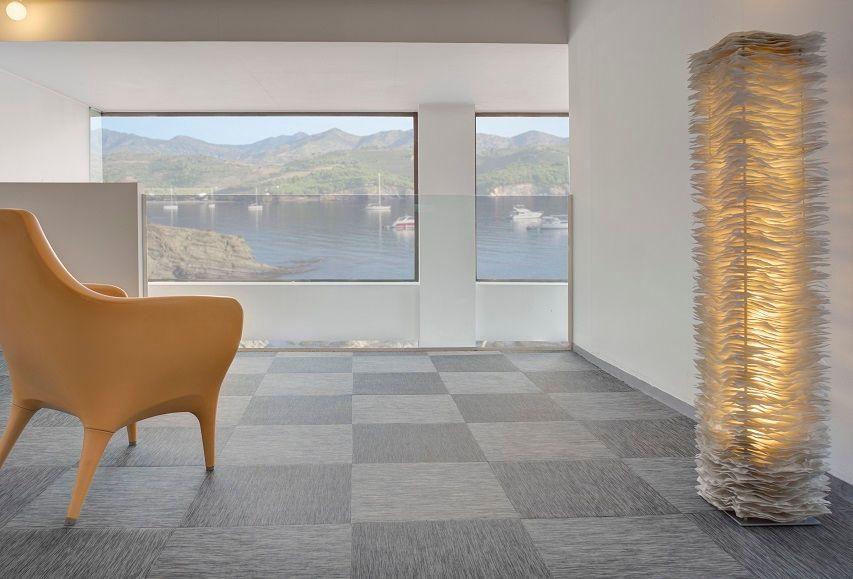 Spanish Durable Textured Woven Vinyl Flooring Brand