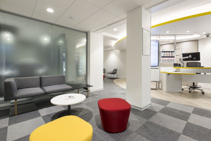 Easy-Care Vinyl Flooring, As Comfortable As A Carpet – For Office And Commercial Areas